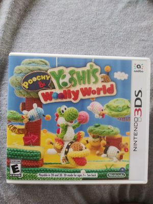 Nintendo 3DS - Poochy & Yoshi's Woolly World for Sale in Lodi, CA