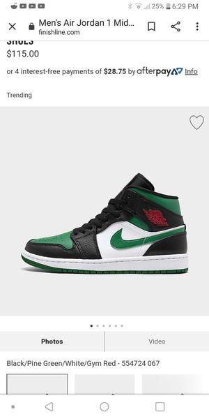 Nike jordan 1 mids for Sale in Decatur, AL