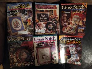 Cross Stitch Magazines 17 issues 1994 - 1997 for Sale in South Attleboro, MA
