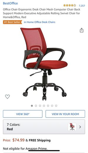 Office Chair Ergonomic Desk Chair - Mesh Computer Chair for Sale in Fremont, CA