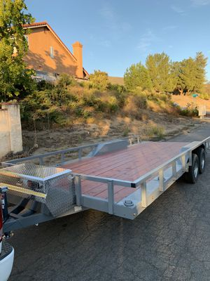 Flat bed trailer for Sale in Alpine, CA