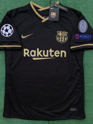 2020/21 Barcelona away soccer jersey M for Sale in Raleigh, NC