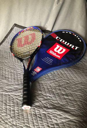 Wilson court zone oversize tennis racket for Sale in Corona, CA