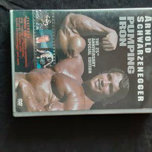 Arnold Schwarzenegger Pumping Iron DVD for Sale in Oklahoma City, OK