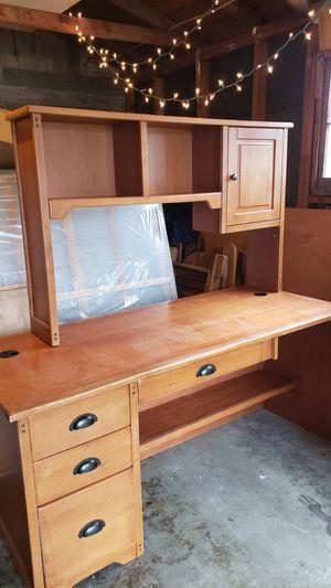 Wooden Desk - $50 OBO for Sale in Seattle, WA