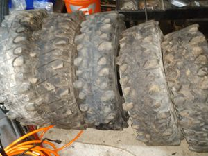 """34 """" x15 swampers beater trail tires 4 for Sale in Kent, WA"""