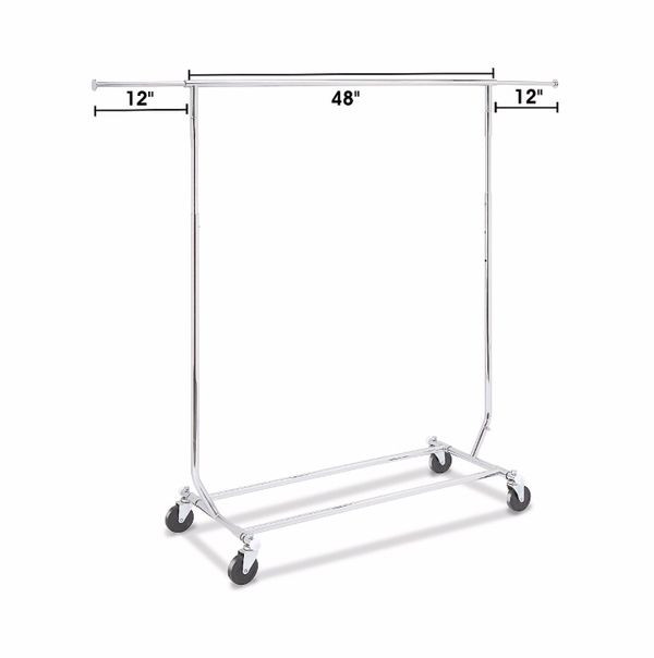 Rolling Garment Rack $80 (or 2 for $120)