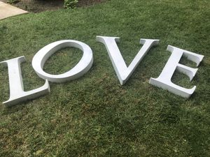 Metal letters for Sale in Huntington Beach, CA