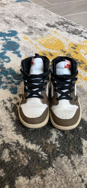 Air 1 Retro High Travis Scott Toddlers 10 for Sale in Austin, TX