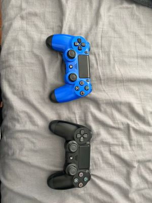 2 PS4 controllers for Sale in Highland, CA