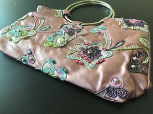 Women's hand bag/ wallet- beautiful colorful sparkling hand made designs for Sale in Falls Church, VA