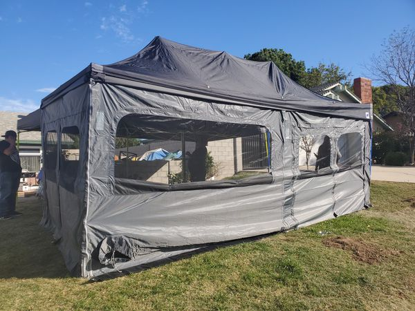 10×20 EZUP ECLIPSE-PROFESSIONAL INSTANT SHELTER (!!!WALLS NOT INCLUDED!!)