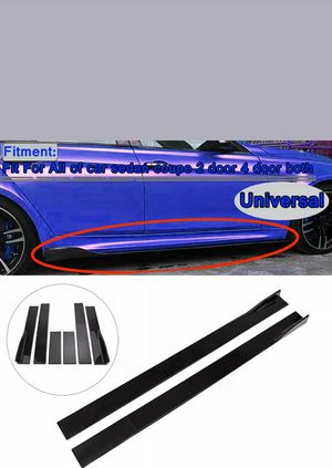 Side skirts (auto) gloss Black for Sale in Henderson, NV