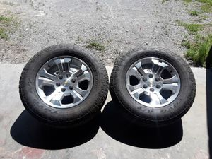 Chevy silverado wheels and tires for Sale in Smyrna, TN