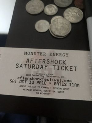 After shock tickets for Saturday only for Sale in Sanger, CA