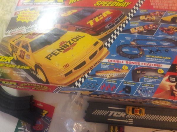 Slot cars,collectors,power supply and track