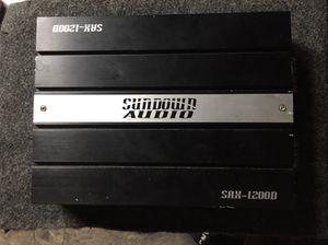 "Sundown Audio Amp, Kicker 12"" CVX Subwoofer & 4 channel Amp for Sale in Washington, DC"