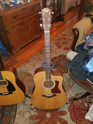 2 Acoustic Guitars all LBSN two also electric for Sale in Tampa, FL