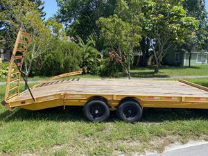 Equipment and Car Trailer. (Heavy Duty) 23 Ft for Sale in Greenacres, FL