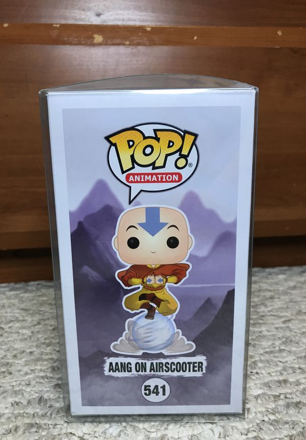 Aang on Airscooter Funko Pop Chase Glow In the Dark GITD