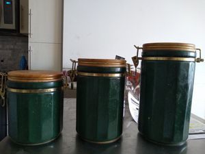 Canisters for sale - set of 3 for Sale in Herndon, VA
