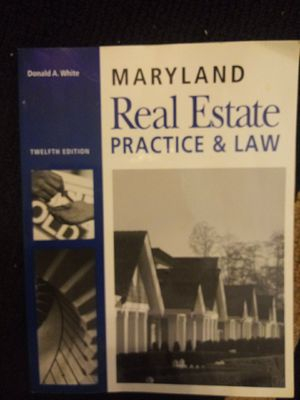 Maryland Real Estate Law Practice Book for Sale in Baltimore, MD