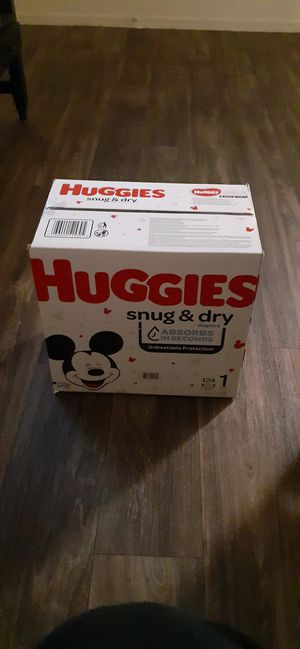 Huggies size 1 for Sale in Chandler, AZ
