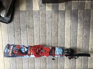 SPIDER-MAN KIDS FISHING ROD for Sale in Staten Island, NY