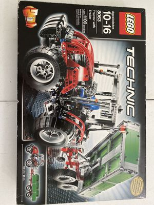 Lego Technic Tractor with Trailer for Sale in Irwindale, CA
