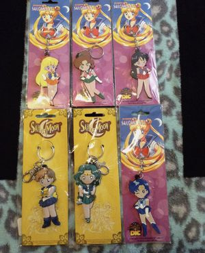 Sailor Moon Keychain Bundle! for Sale in Los Angeles, CA