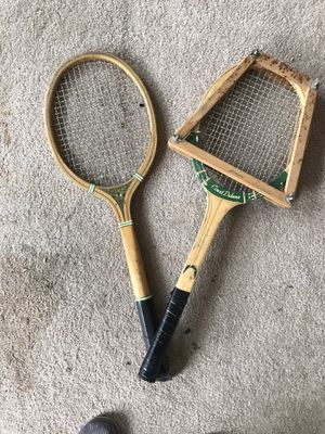 Vintage tennis rackets for Sale in Sumner, WA