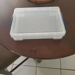 Clear Plastic Storage Box for Sale in Fort Lauderdale, FL