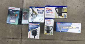 Power Filters Aquarium for Sale in Gilroy, CA