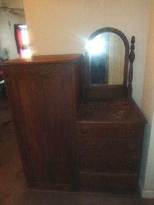 Antique Chifferobe / wardrobe / dresser for Sale in Rodeo, CA