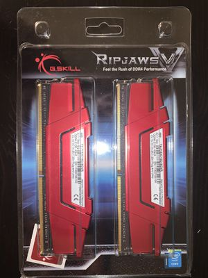 RIPJAWS V G.SKILL DDR4 RAM 8GB (4x2) 2133mhz for Sale in Santa Ana, CA