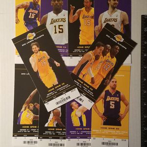 10 LAKERS 2012 PLAYOFF GAME TICKETS for Sale in Artesia, CA