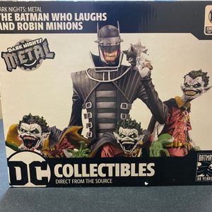 DC Collectibles Dark Knights Metal: The Batman Who Laughs & Robin Minions Deluxe for Sale in Lawrenceville, GA