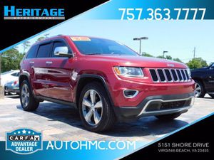 2015 Jeep Grand Cherokee for Sale in Virginia Beach, VA