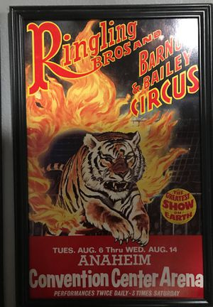 Ringling Brothers and Barnum and Bailey Circus for Sale in Yorba Linda, CA