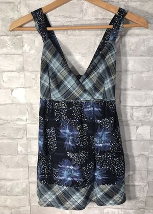 Calvin Klein Cute Summer top, Blue Mix Print for Sale in York, PA
