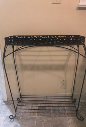 Metal plant stand for Sale in Tacoma, WA