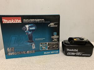 Makita 18-Volt LXT Lithium-Ion Brushless 1/4 in. Cordless Impact Driver (No charger) for Sale in Hayward, CA