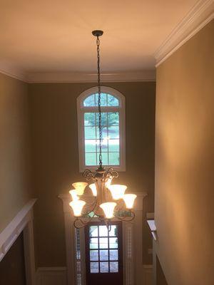 Chandelier & Wall light fixture.( Range $80 to $30 per pc) for Sale in Snellville, GA