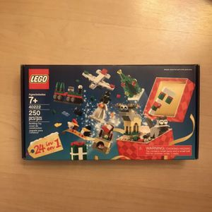 LEGO Christmas Gift Box, 24 In 1 for Sale in Boston, MA