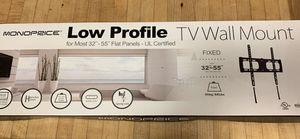 """NEW Low profile TV flush mount. 32""""-55"""" for Sale in North Kingstown, RI"""