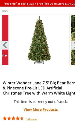 7.5ft christmas tree FREE for Sale in Columbus, OH