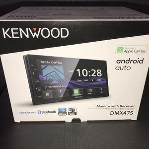 Kenwood DMX47s Touch screen apple Car Play for Sale in Houston, TX