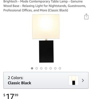 MODERN Table Lamp *NEW* Unopened Box *Bed Lamp *Nightstand for Sale in Young, AZ