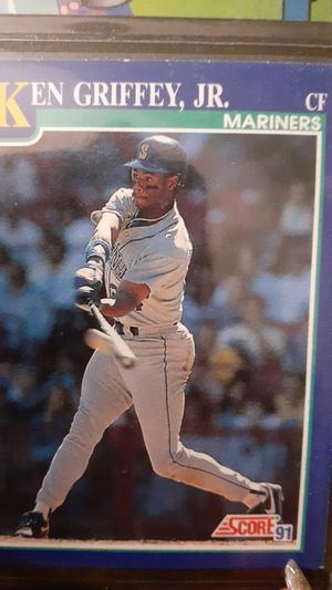 Ken Griffey jr. collectible baseball card for Sale in Tampa, FL
