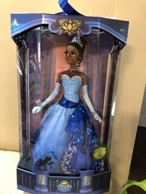 Disney Limited edition Tiana doll for Sale in San Antonio, TX